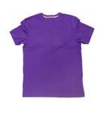 Violet shirt Stock Photography