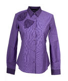 Violet shirt Stock Photos
