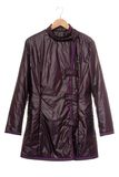 Violet short coat Stock Image