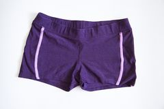 Violet shorts Stock Photos