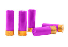 Violet shotgun Royalty Free Stock Images