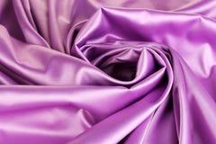 Violet silk drape Royalty Free Stock Photo