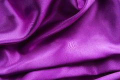 Violet silk Stock Images