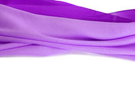 Violet silk fabric background Stock Image