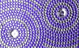 Violet and silver texture Stock Photography