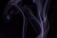 Violet smoke Royalty Free Stock Photography