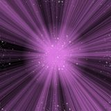 Violet Space Nebula Imagenes de archivo