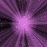 Violet Space Nebula Stock Images