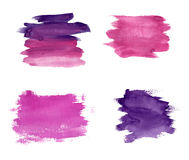 Violet stains Royalty Free Stock Photo