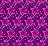 Violet star pattern Stock Photo
