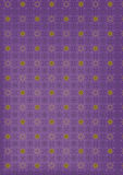 Violet starry  abstract background Royalty Free Stock Photography