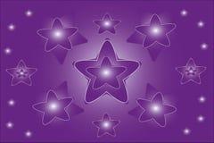 Het patroon van de ster Royalty-vrije Stock Foto