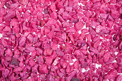Violet Stones Stock Photo