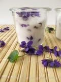 Violet sugar Royalty Free Stock Photos