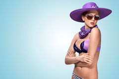Violet summer. Royalty Free Stock Photos