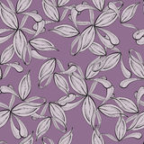 Violet summer seamless Stock Photography