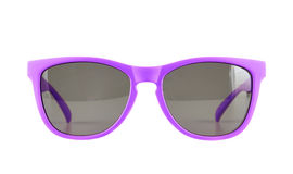 Violet sun glasses isolated royalty free stock photography