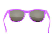 Violet sun glasses isolated royalty free stock photo