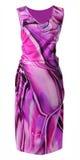 Violet sundress Royalty Free Stock Photo