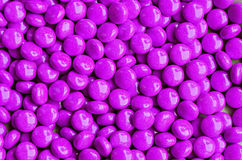 Violet sweet candies Royalty Free Stock Photo