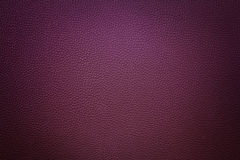 Violet synthetic leather  background with vignette Royalty Free Stock Image
