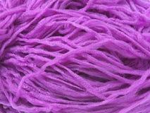 Violet synthetisch garen Royalty-vrije Stock Afbeelding