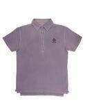 Violet tee shirt, polo shirt Stock Photography