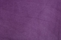 Violet texture of nap textile Royalty Free Stock Photos