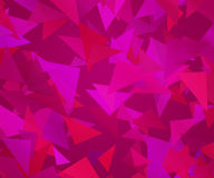 Violet Triangle Abstract Background Stock Foto