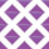 Violet turned square pattern Royalty Free Stock Photo