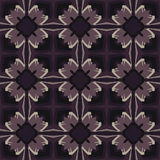 Violet universal vector seamless patterns, tiling. Geometric ornaments. Royalty Free Stock Photo