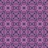 Violet universal vector seamless patterns, tiling. Geometric ornaments. Royalty Free Stock Images
