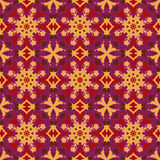 Violet universal vector seamless patterns, tiling. Geometric ornaments. Royalty Free Stock Photos