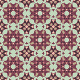 Violet universal vector seamless patterns, tiling. Geometric ornaments. Stock Photos