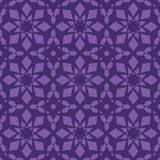Violet vector seamless patterns, tiling. Geometric ornaments. Royalty Free Stock Photos