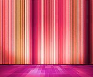 Violet Vintage Retro Lines Wallpaper Interior Stock Image