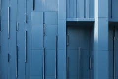 Violet Wall Of A Building. Royalty Free Stock Photos