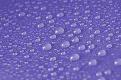 Violet Water Drops Stock Photos
