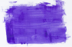 Violet watercolor painting texture Stock Images