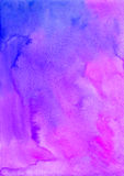 Violet watercolor vector background Royalty Free Stock Image