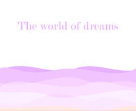 Violet wavy background. Purple waves. Violet wavy background. light Purple waves. backdrop Royalty Free Stock Photography