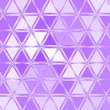 Small violet and white colored triangles continuous pattern. Violet and white colored triangles continuous pattern royalty free illustration