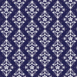 Violet and white seamless pattern Royalty Free Stock Image