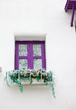 Violet window Royalty Free Stock Photos
