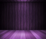 Violet Wooden Interior Background Royalty-vrije Stock Afbeeldingen