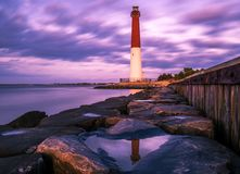 Violet World. Barnegat Lighthouse