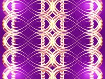 violet, złoty Fotografia Stock