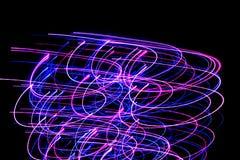 violeta azul abstrata Fotografia de Stock Royalty Free