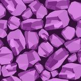 Violeta de pedra do fundo ilustração stock