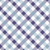 Violeta del modelo de la guinga Textura del Rhombus/de los cuadrados para - la tela escocesa, manteles, ropa, camisas, vestidos,  ilustración del vector
